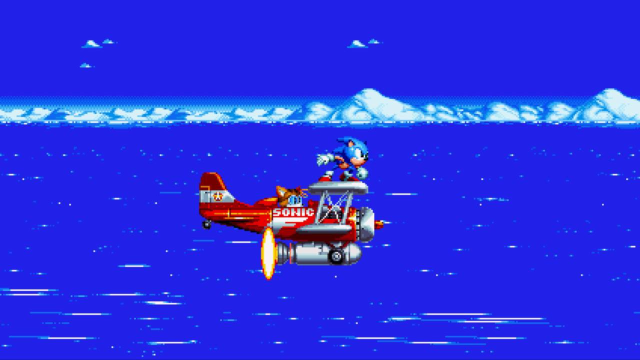 Sonic Mania Test My Geek Actu Avion Tails