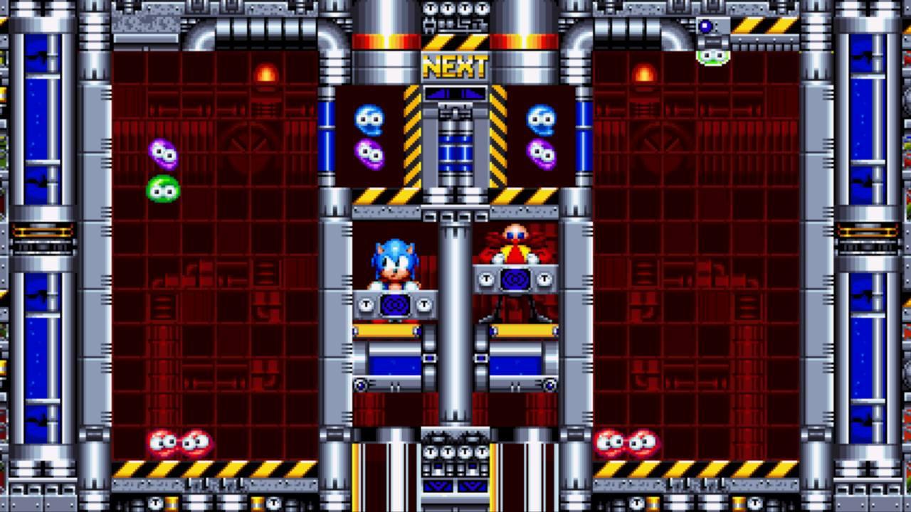 Sonic Mania Test My Geek Actu Dr. Robotnik's Mean Bean Machine