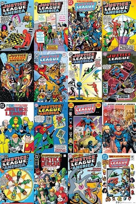 Geekeries Justice League My Geek Actu Poster