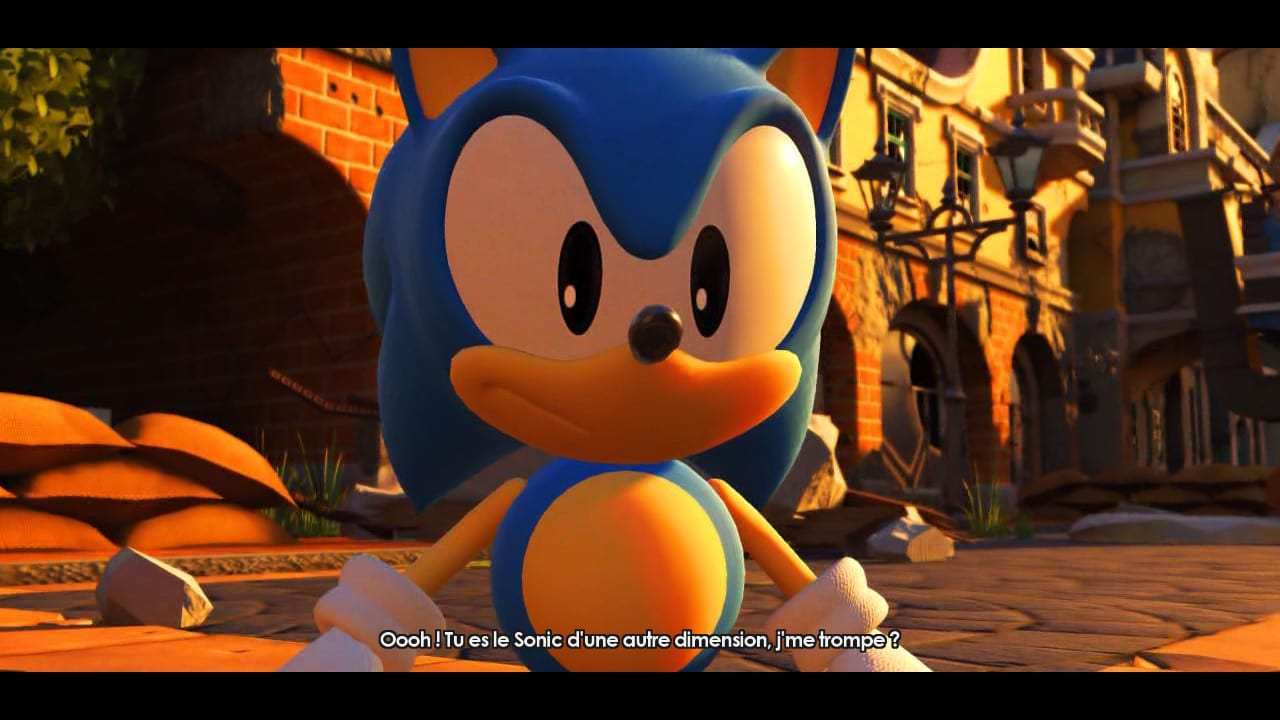 Sonic Forces Test My Geek Actu Old School