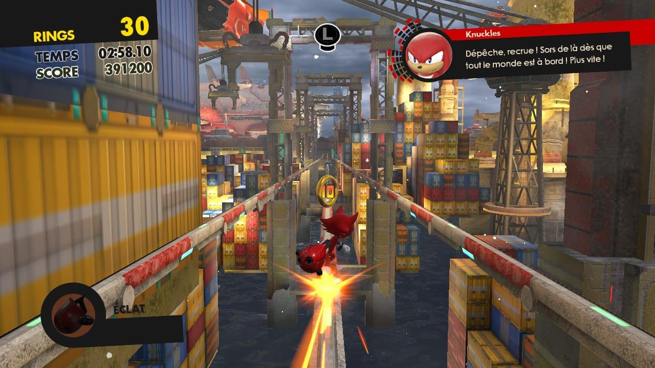 Sonic Forces Test My Geek Actu Recrue
