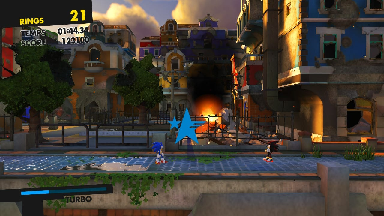 Sonic Forces Test My Geek Actu Shadow