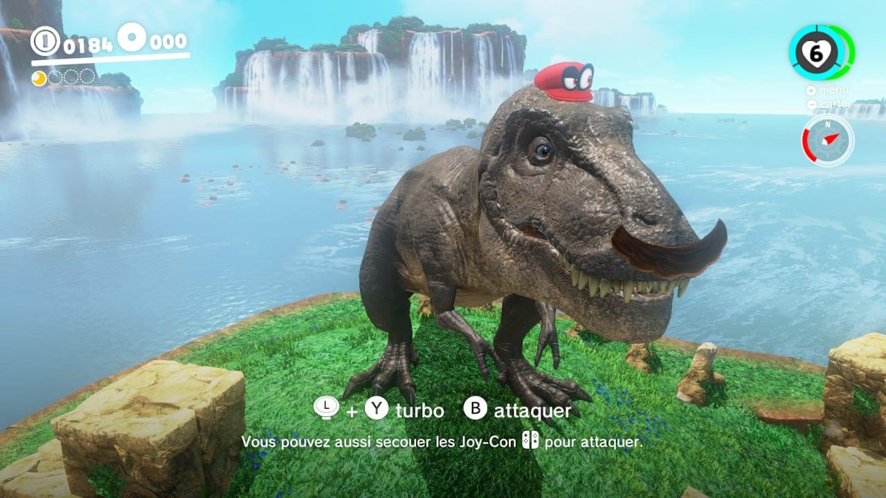 Super Mario Odyssey Test Nintendo Switch My Geek Actu T-Rex