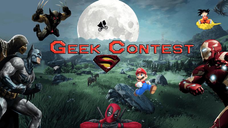 GEEK CONTEST – Héros et super-héros