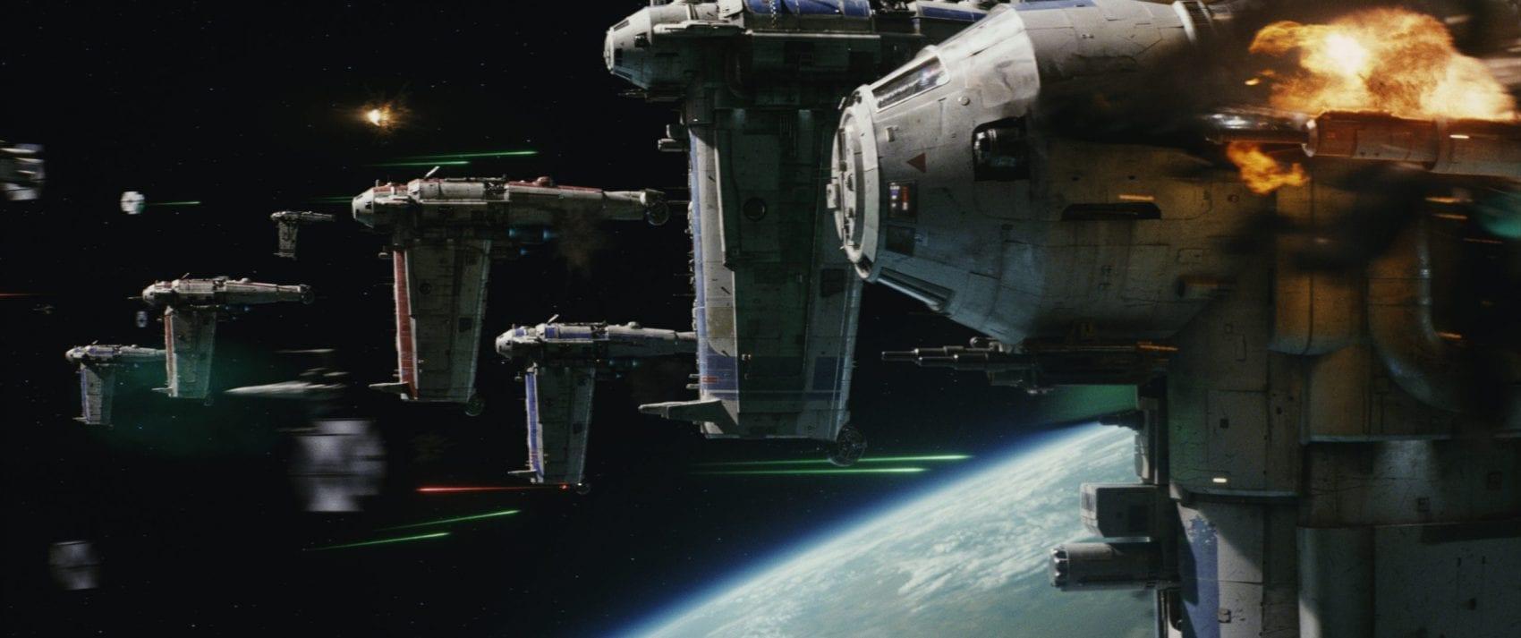 L'avis de la rédac My Geek Actu Star Wars 8 Les Derniers Jedi Bombardiers