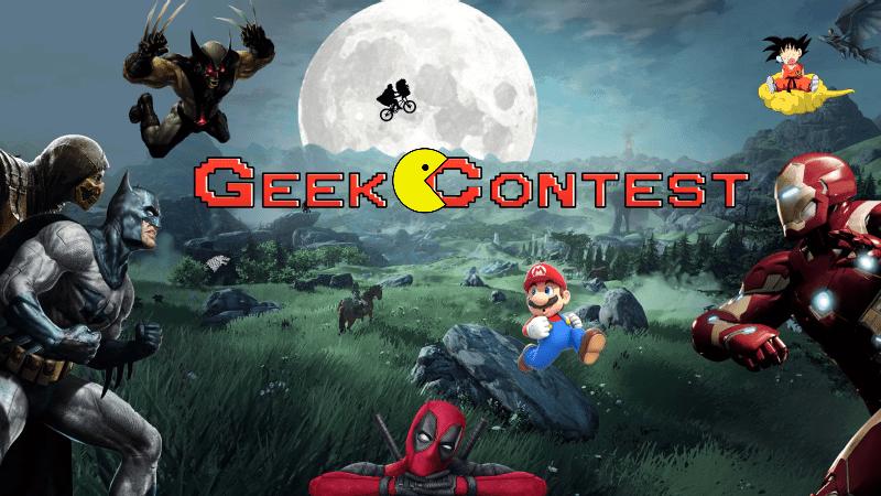 GEEK CONTEST – Les jeux vidéo