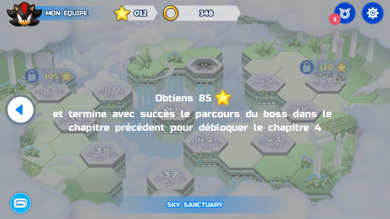 Sonic Runners Adventure Test iOS My Geek Actu Map 4