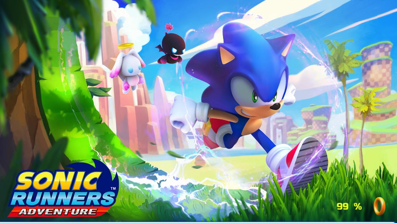 Sonic Runners Adventure Test iOS My Geek Actu Splashscreen