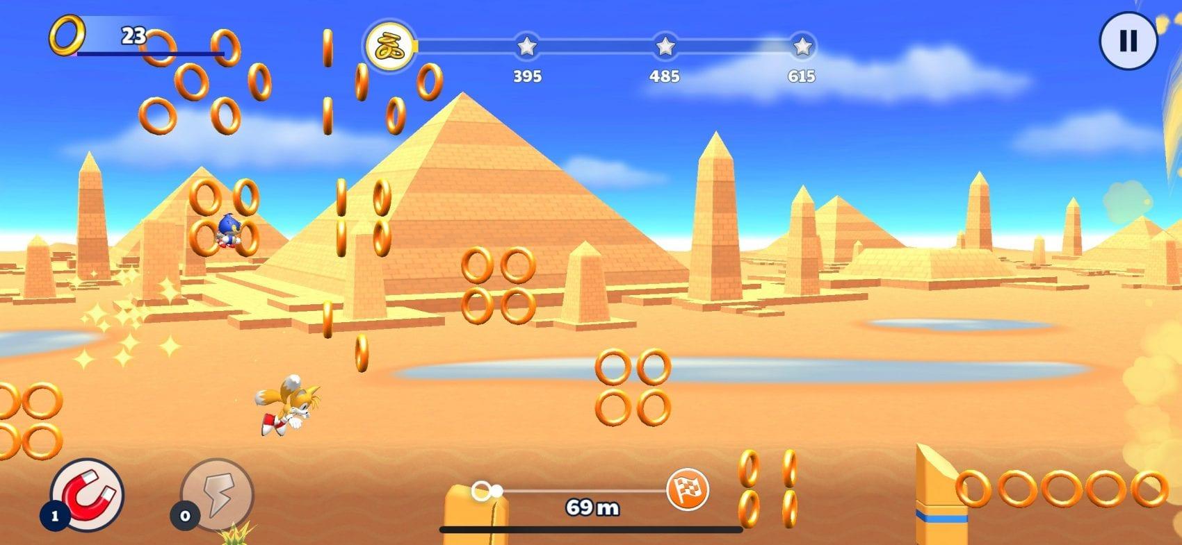 Sonic Runners Adventure Test iOS My Geek Actu Tails
