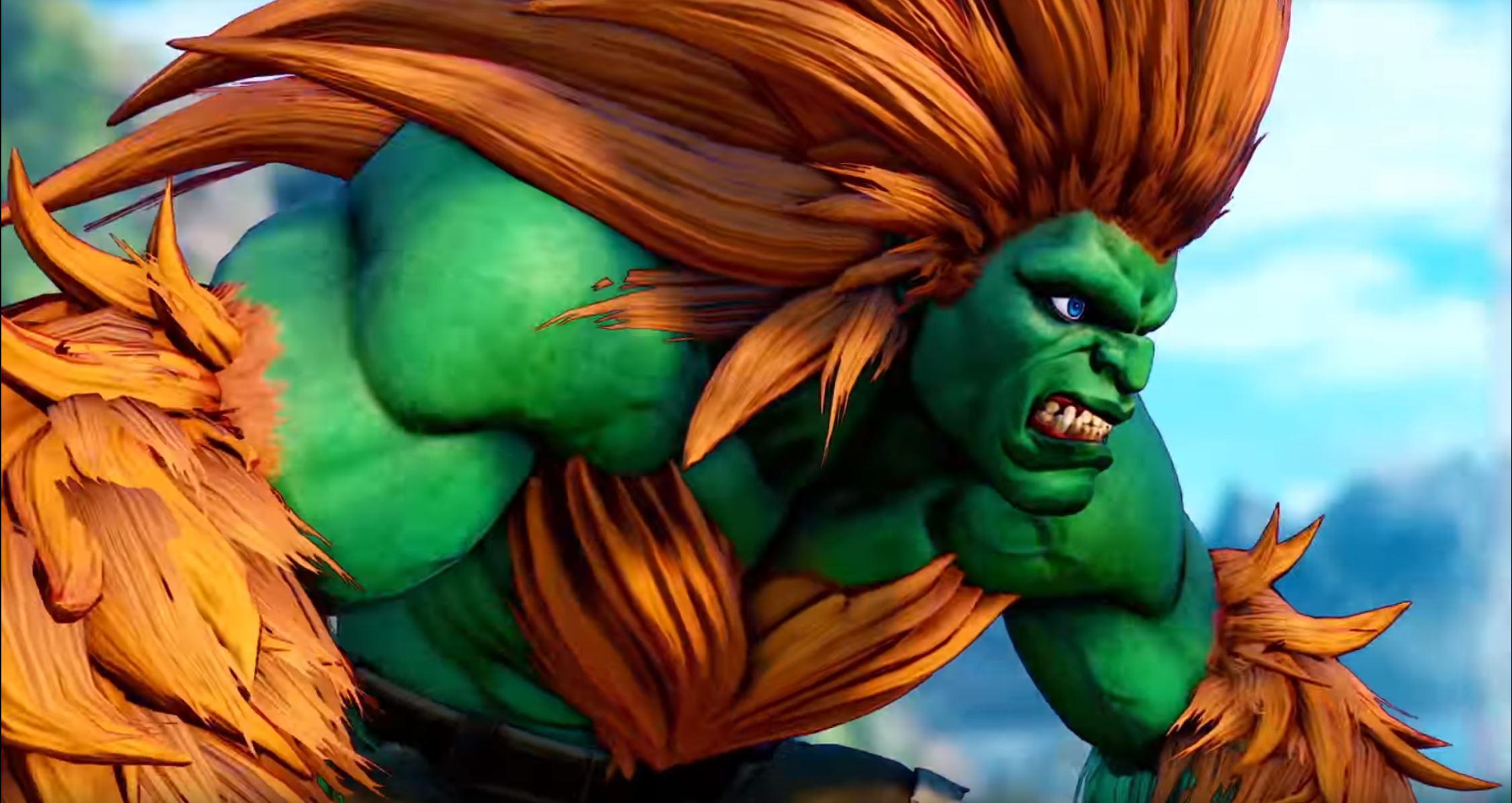 NEWS – Street Fighter V : Blanka
