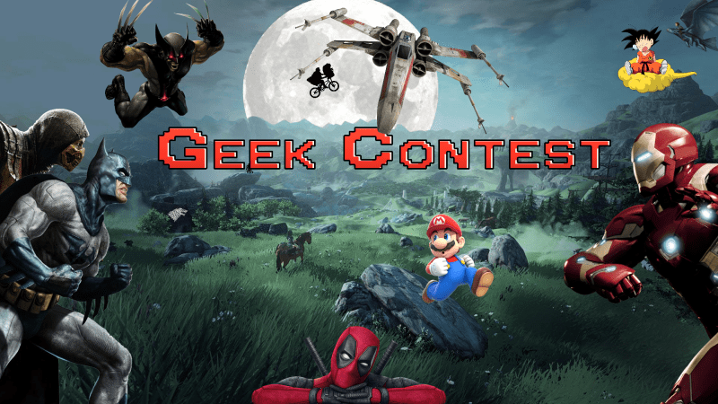 GEEK CONTEST – Science-fiction