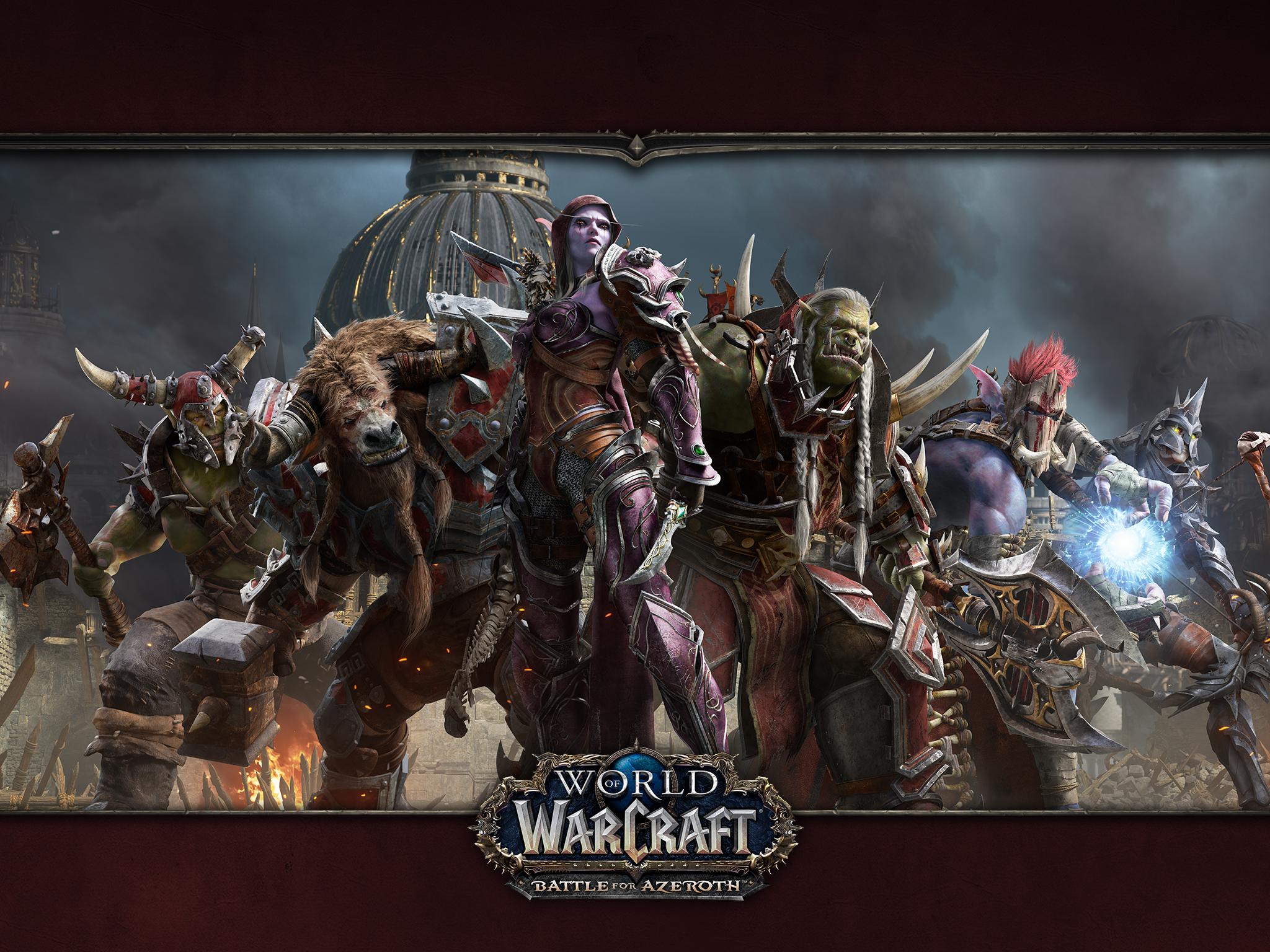 NEWS - WoW Battle For Azeroth - Contenu