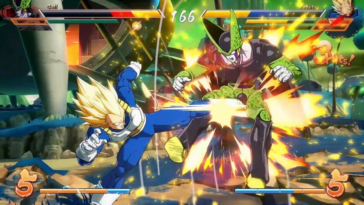 dragon-ball-fighter-z-vegeta-vs-cell