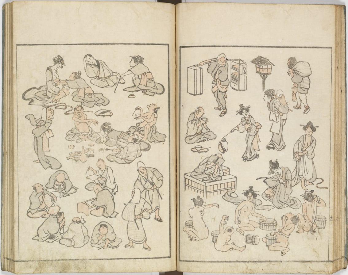 Les différents types de mangas - Hokusai Manga