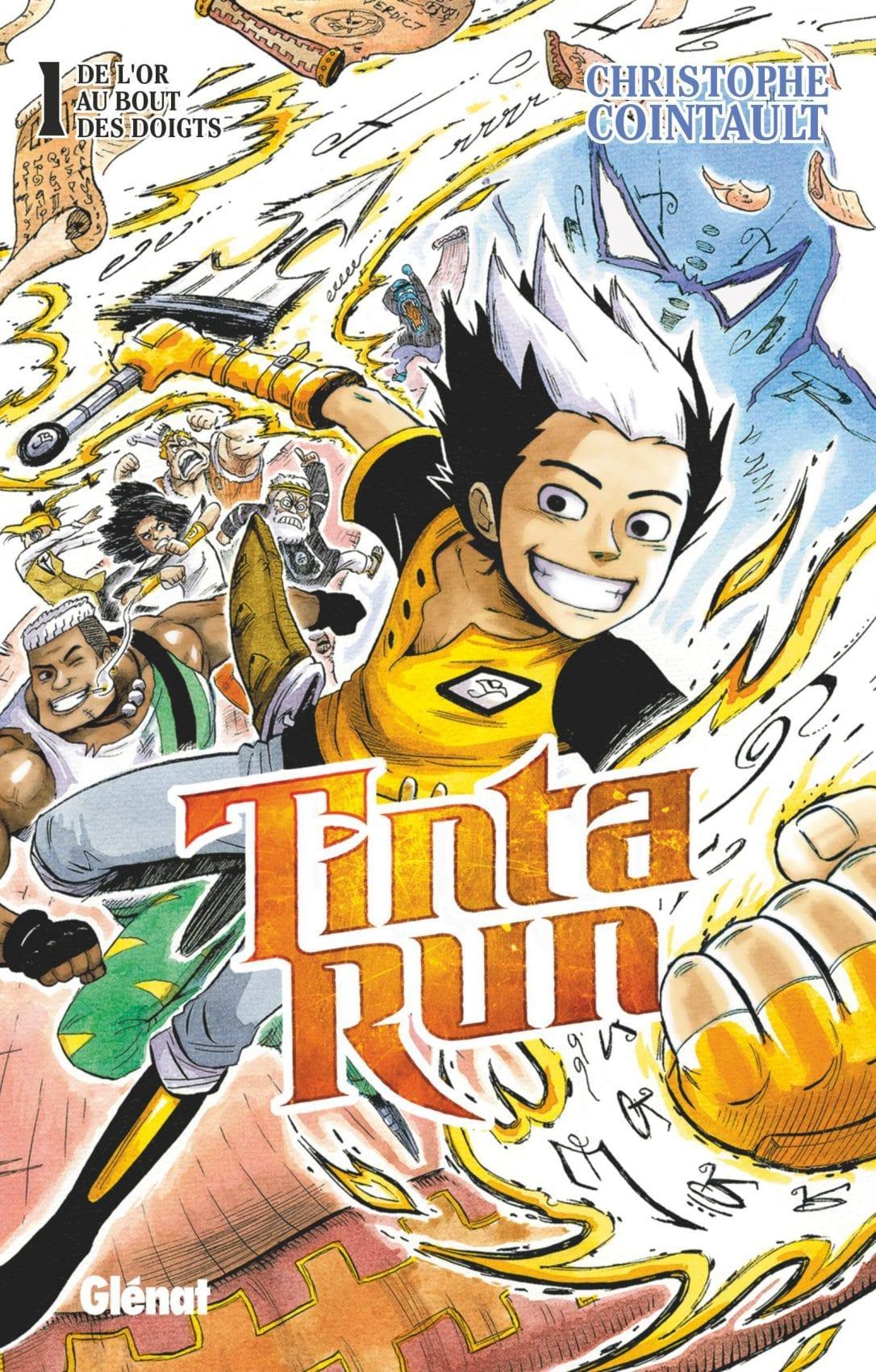REVIEW – Tinta Run (tome 1)