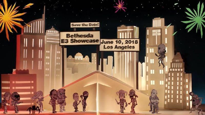 E3 2018 – Conférence Bethesda