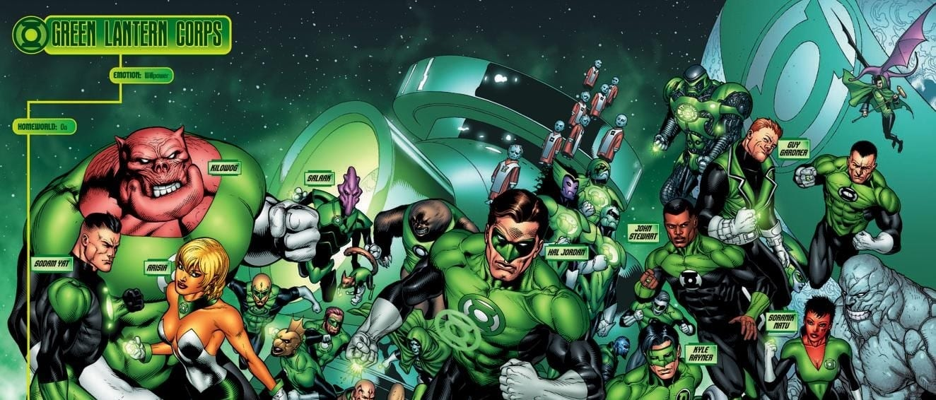 NEWS – Green Lantern Corps (film)
