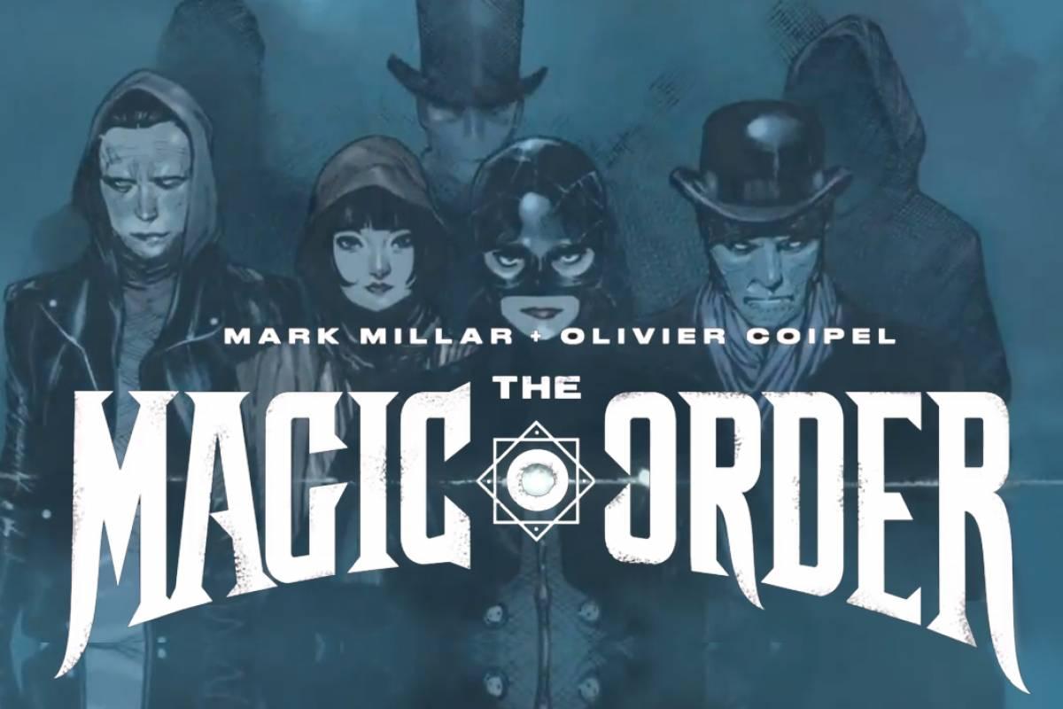 NEWS – The Magic Order (comics)