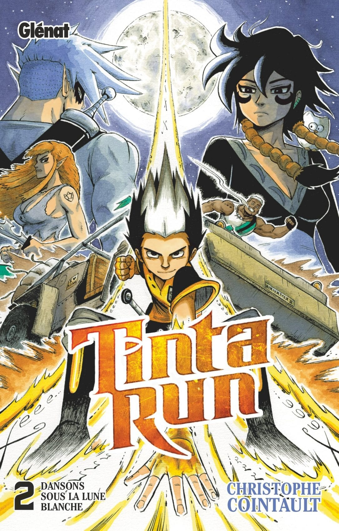 REVIEW – Tinta Run (tome 2)
