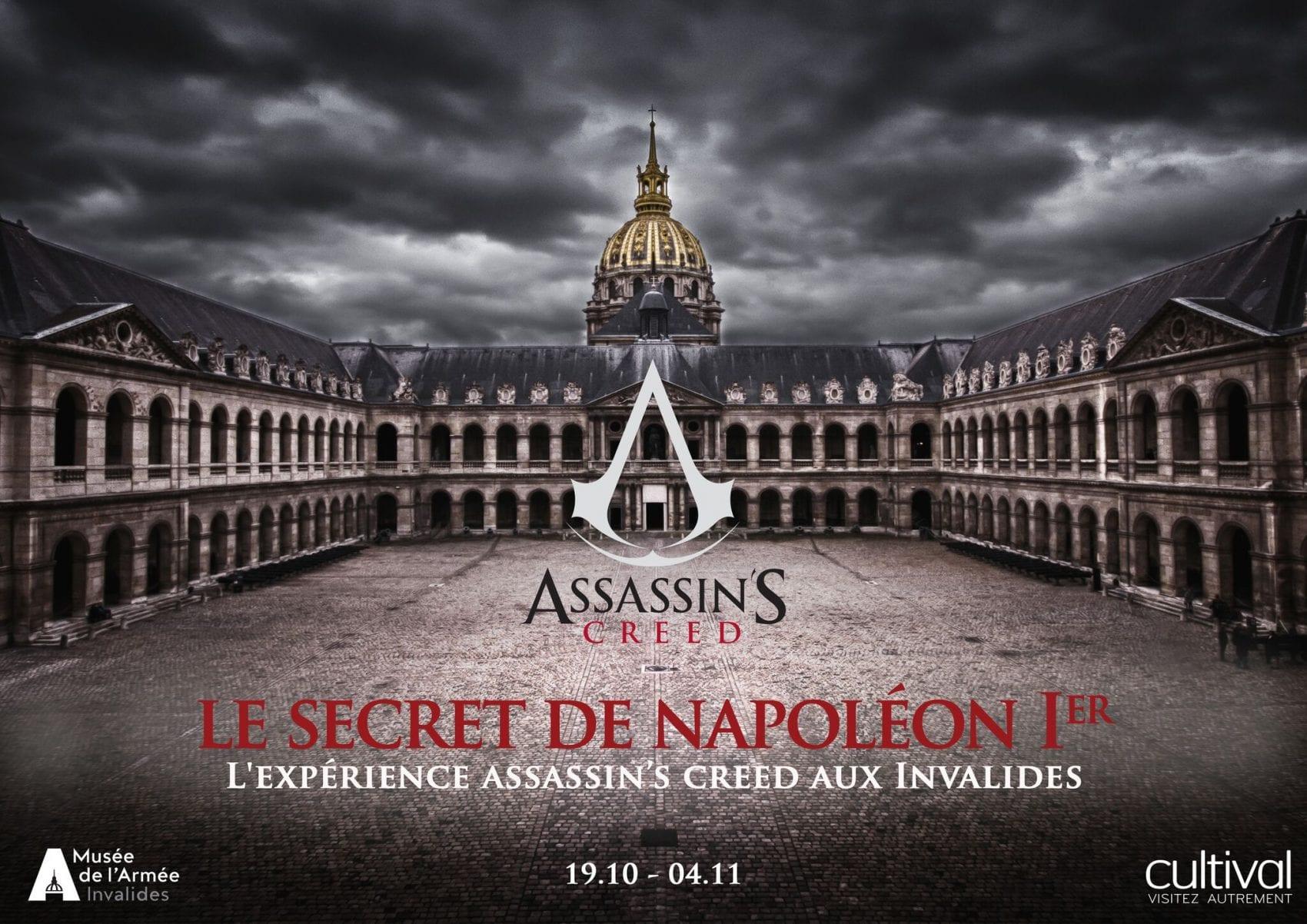EVENT – L'expérience Assassin's Creed aux Invalides