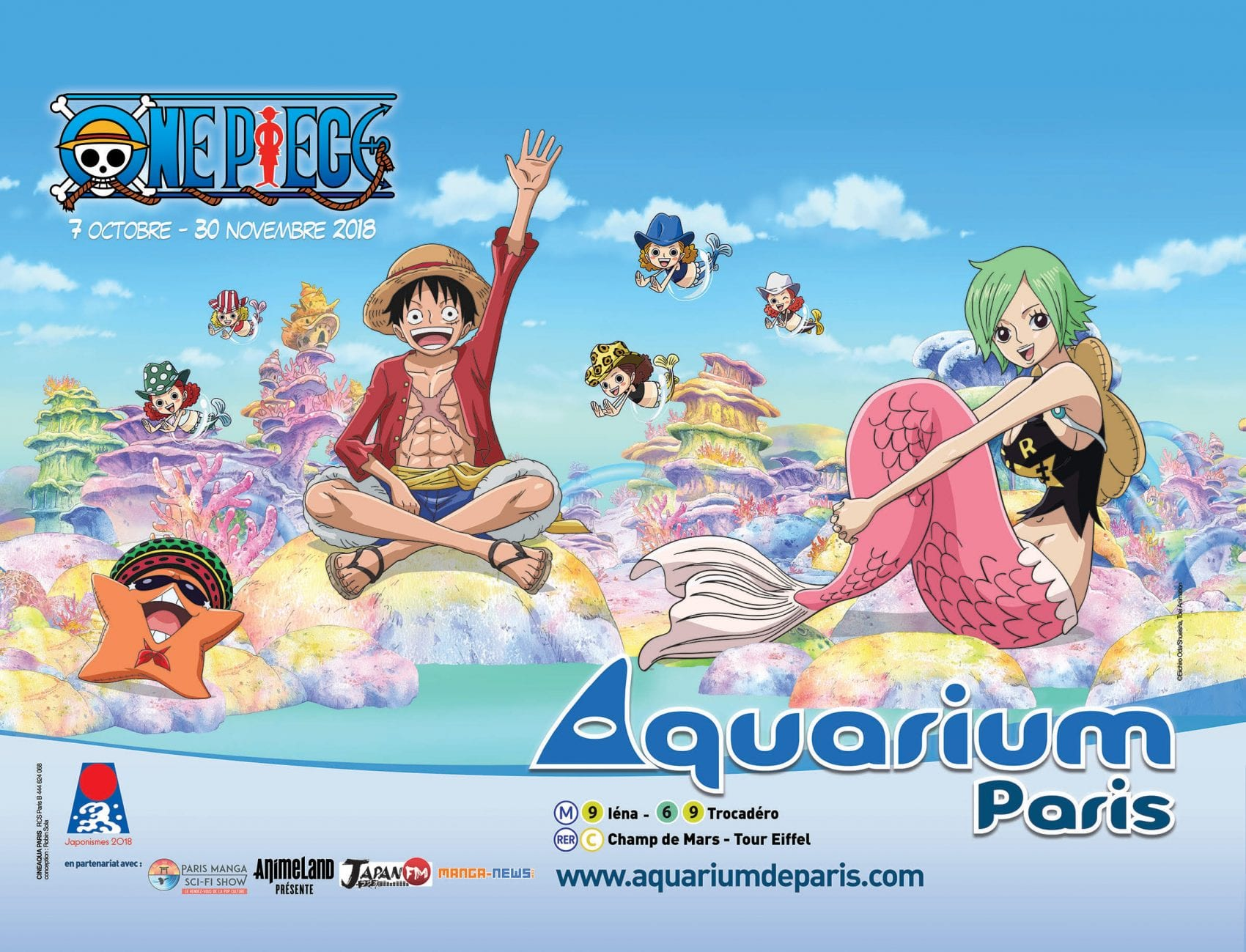 EVENT – One Piece à l'Aquarium de Paris