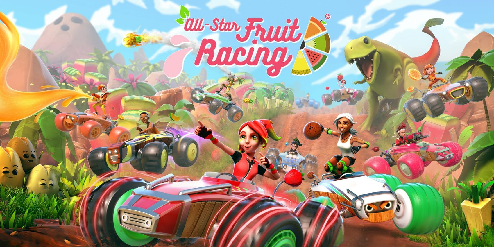TEST – All-Star Fruit Racing