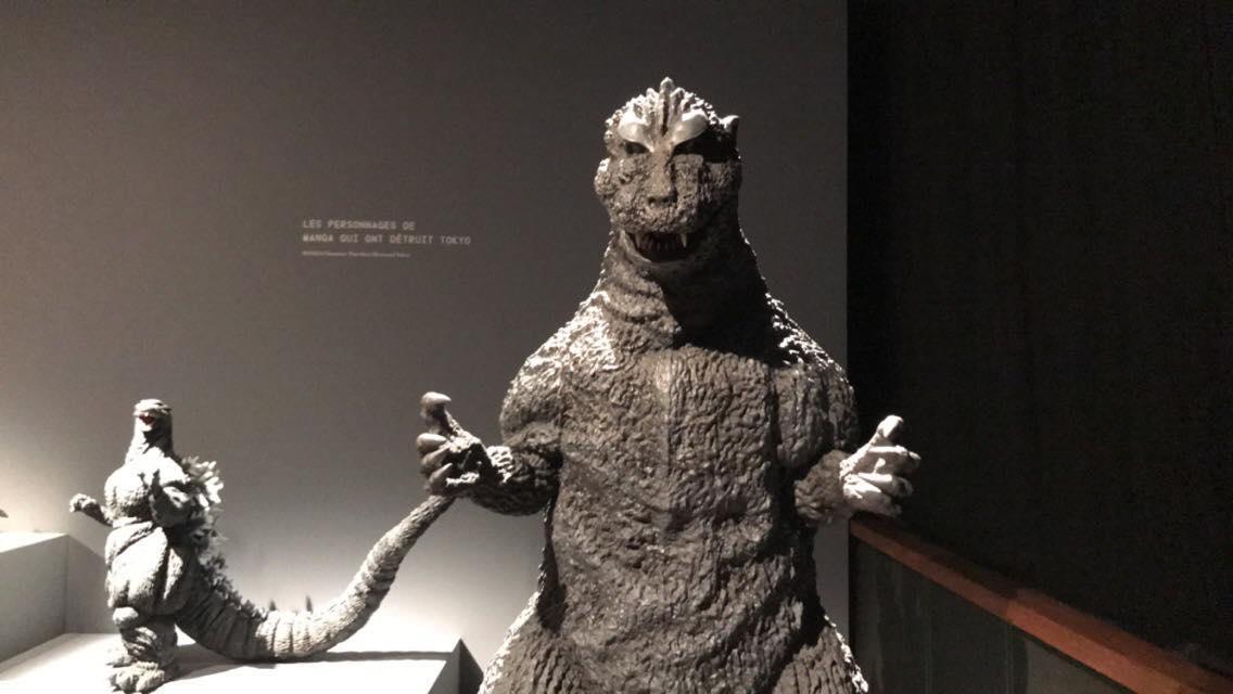 L'exposition Manga ↔ Tokyo - Godzilla