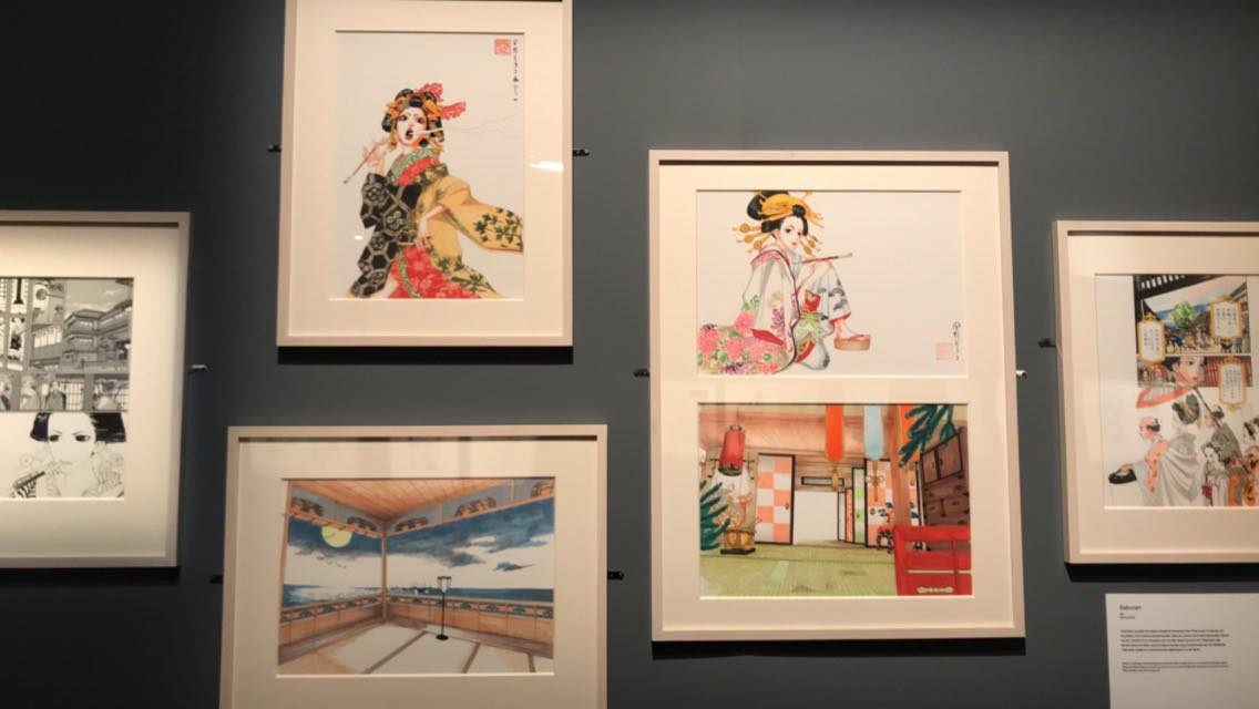 L'exposition Manga ↔ Tokyo - exposition