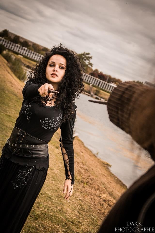 top cosplay hp - bellatrix