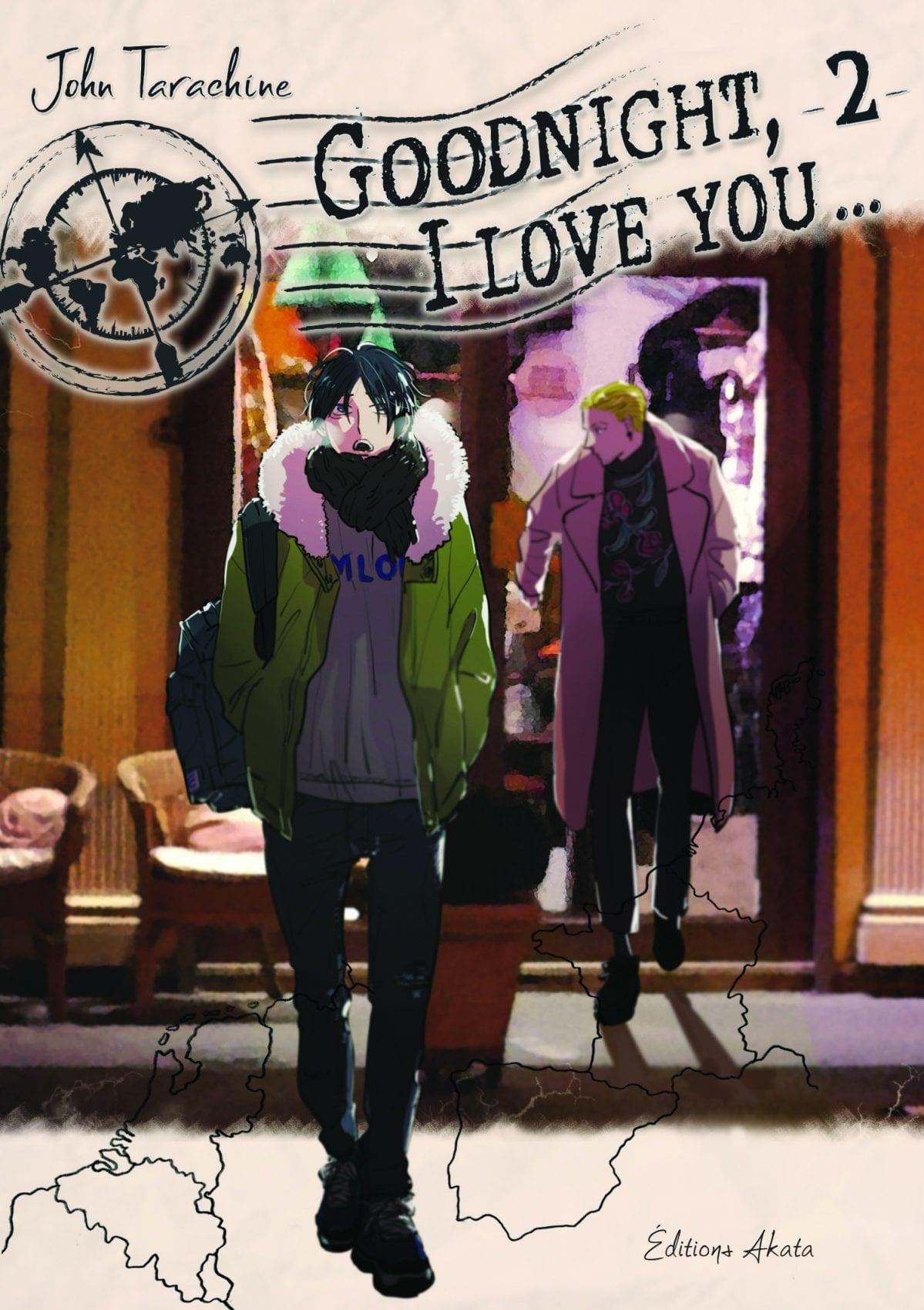 Couverture du tome 2 de Goodnight, I Love You...