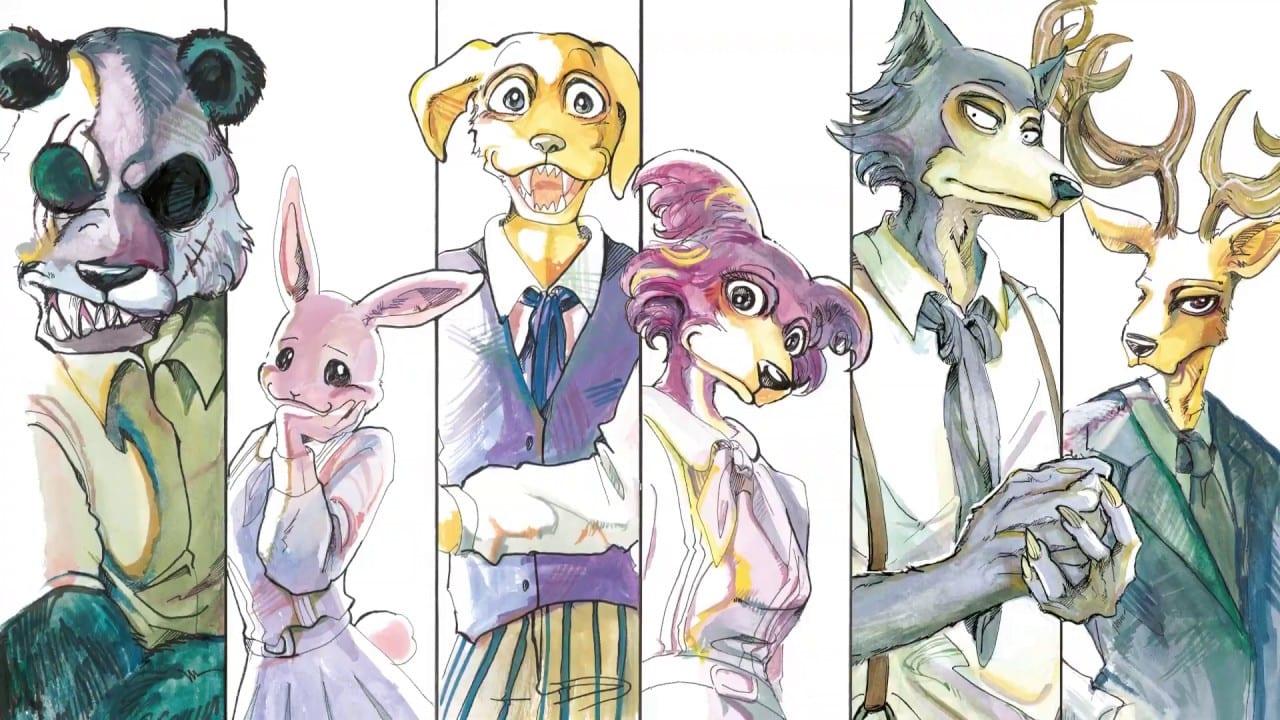 Review-Beastars - manga