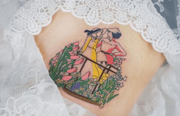 TOP 10 – Des plus beaux tatouages Studio Ghibli