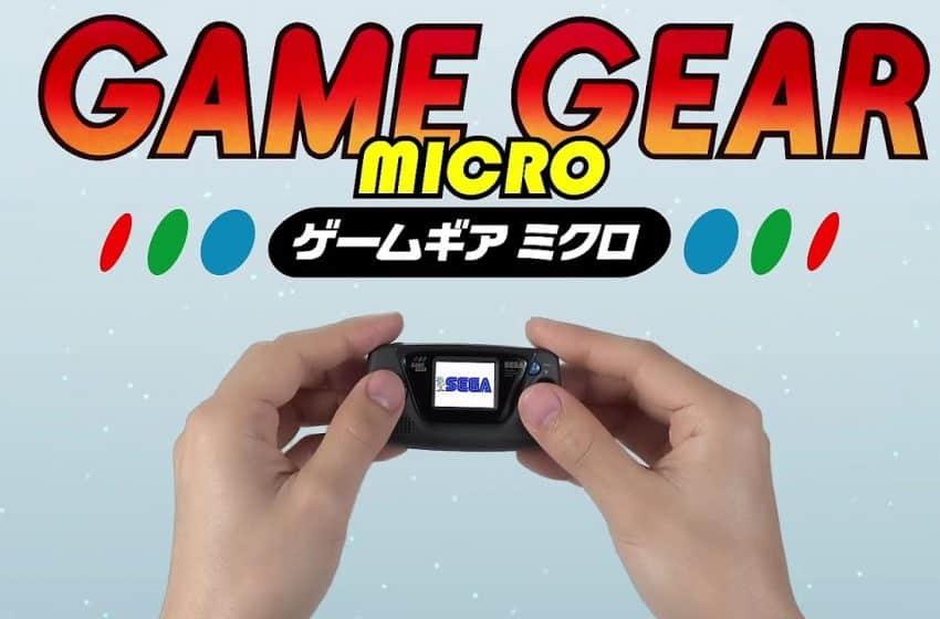 NEWS – Game Gear Micro : Macro-flop ?