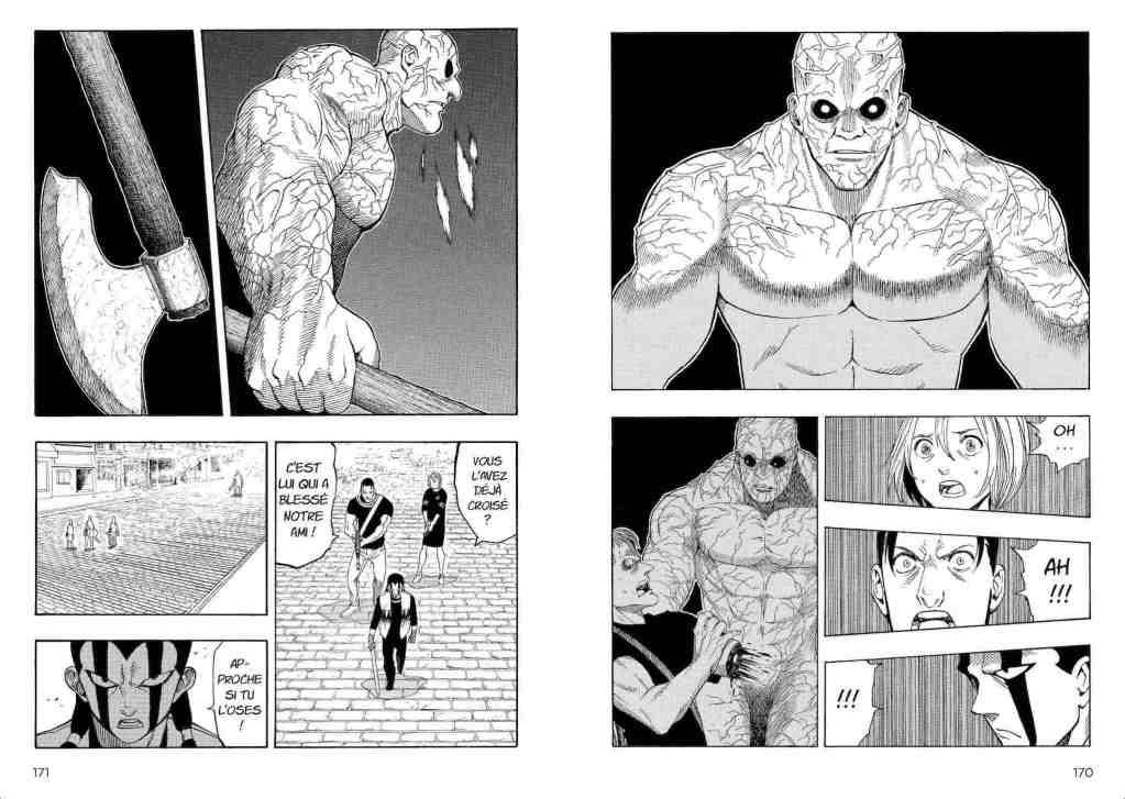 Monstre principal dans Rock of Destruction par Katsuuu