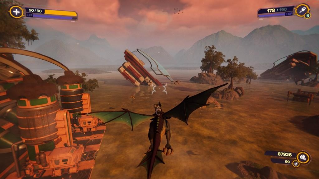 Trudi le dragon dans Ratchet & Clank Rift Apart