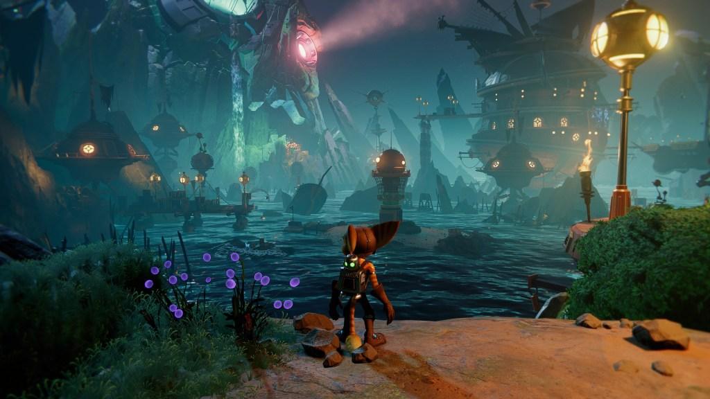 Ville pirates dans Ratchet & Clank Rift Apart